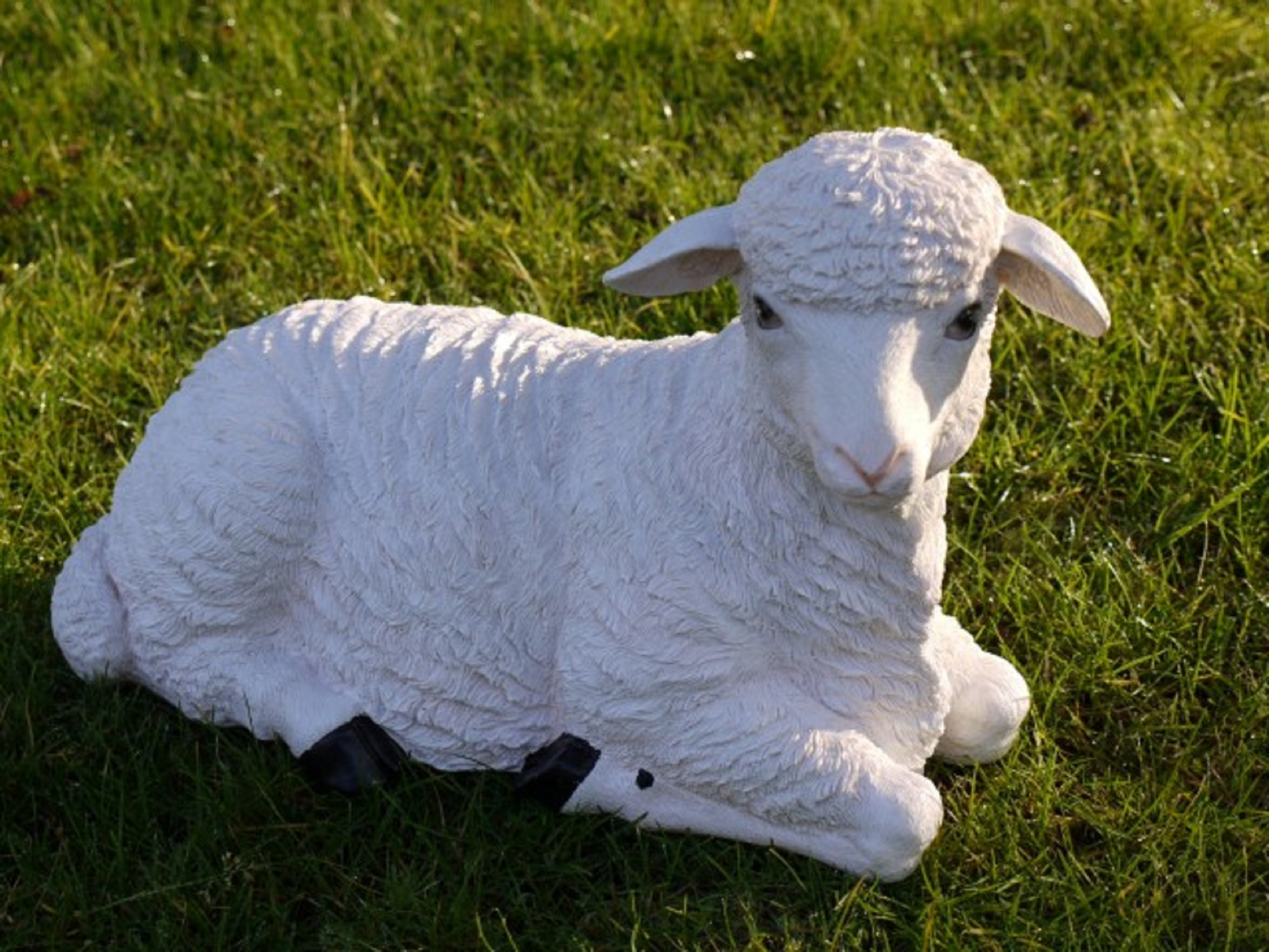 Look A Like Baby Lamb Statue For The Garden Somerset