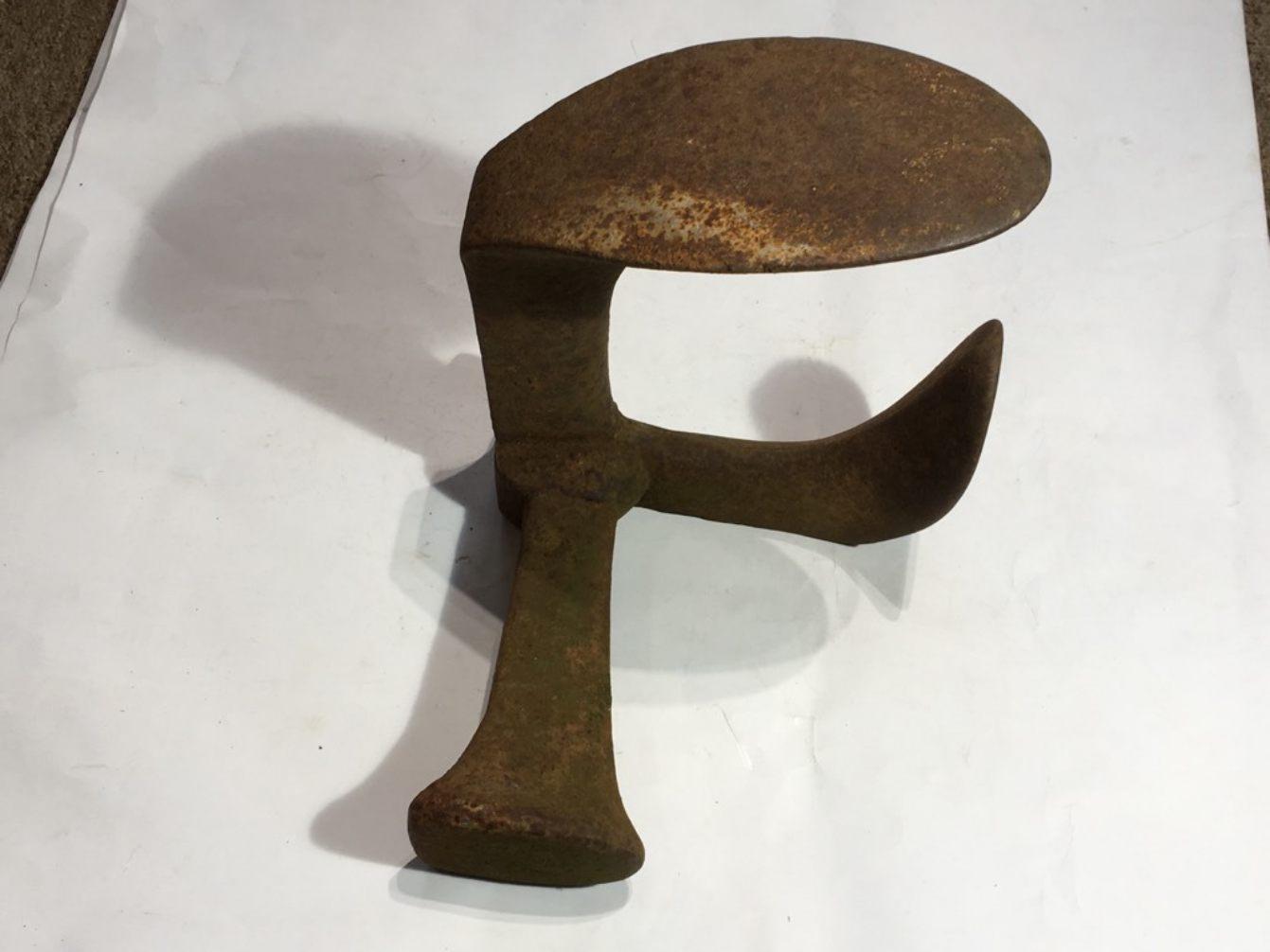 Cast Iron Shoe Horn Rusty Somerset