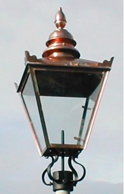 32 Quot X 15 Quot Copper Victorian Style Replacement Lamp Lantern