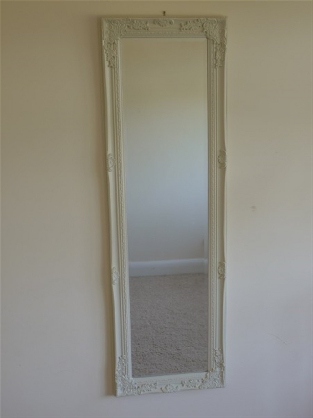Cream Long Mirror 40x130cm Somerset South West Home Living
