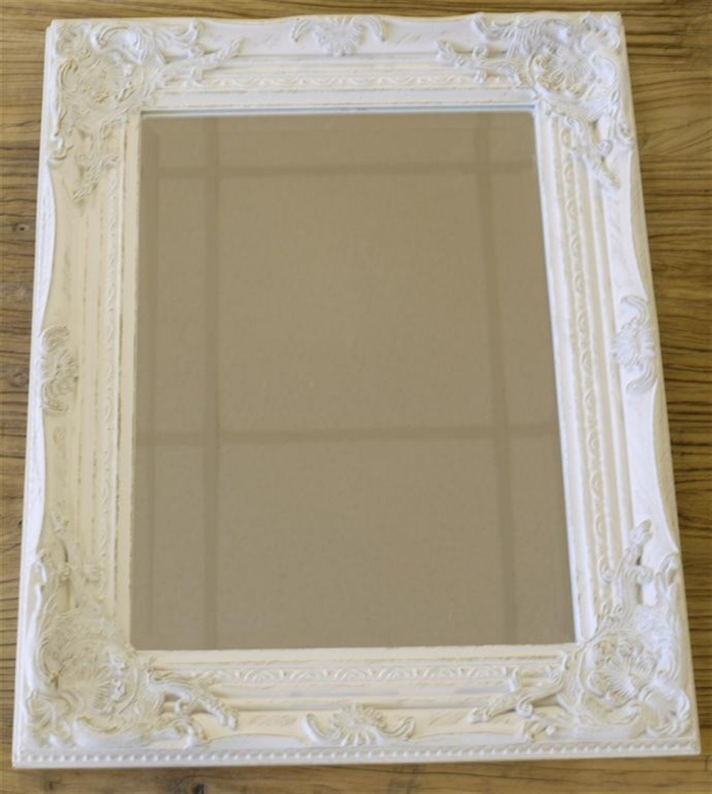 17 Quot X21 Quot White Gold Mirror Somerset South West Home Living