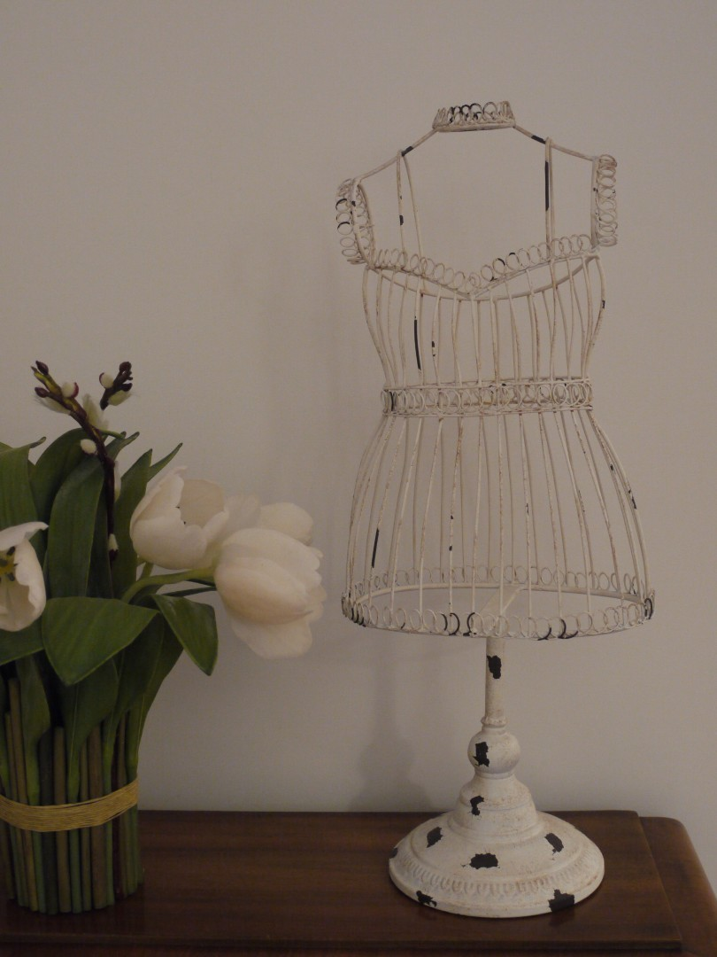 Small Wire Shabby Chic Mannequin Somerset Reclamation Radstock Bath