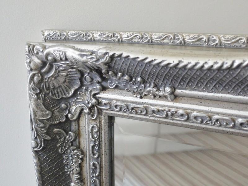 Speckled Antique Silver Mirror 69x80cm Somerset