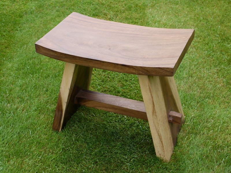 Solid Wooden Bench Stool 16 High Somerset Reclamation