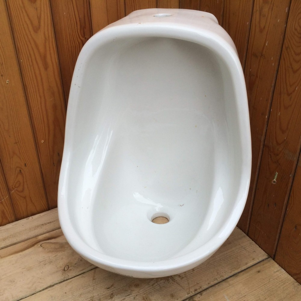 White Ceramic Men S Urinal Somerset Reclamation Radstock