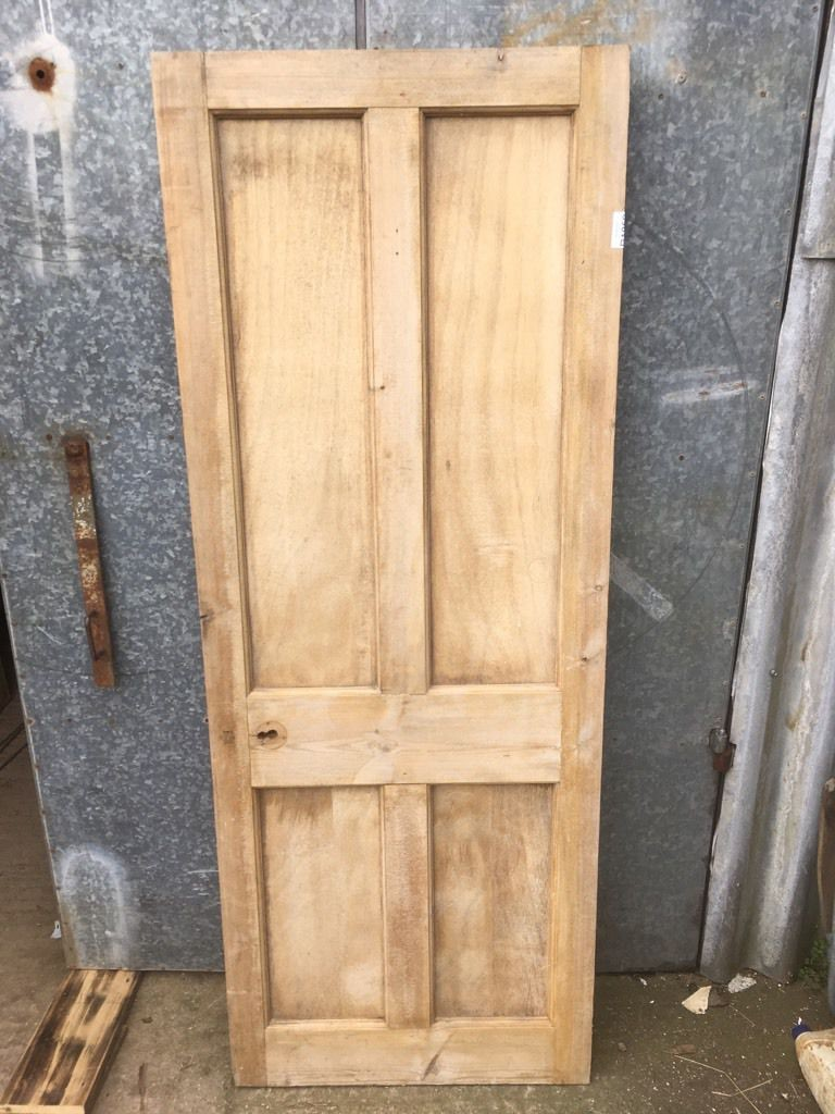 Reclaimed Short Four Panel Door 2 Over 2 In Overall Good
