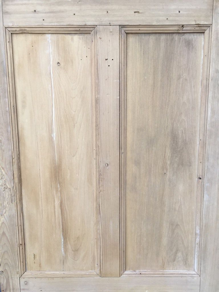 34 189 X76 Reclaimed Victorian Stripped Pine Four Panel