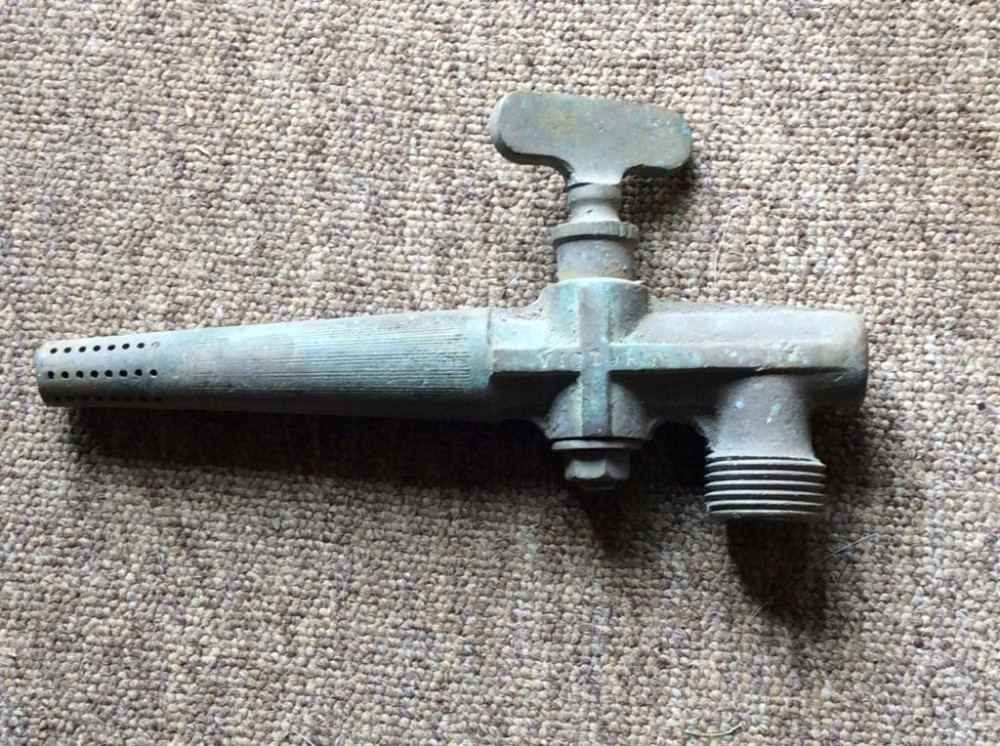 Reclaimed Old Brass Home Brewing Barrel Tap Somerset