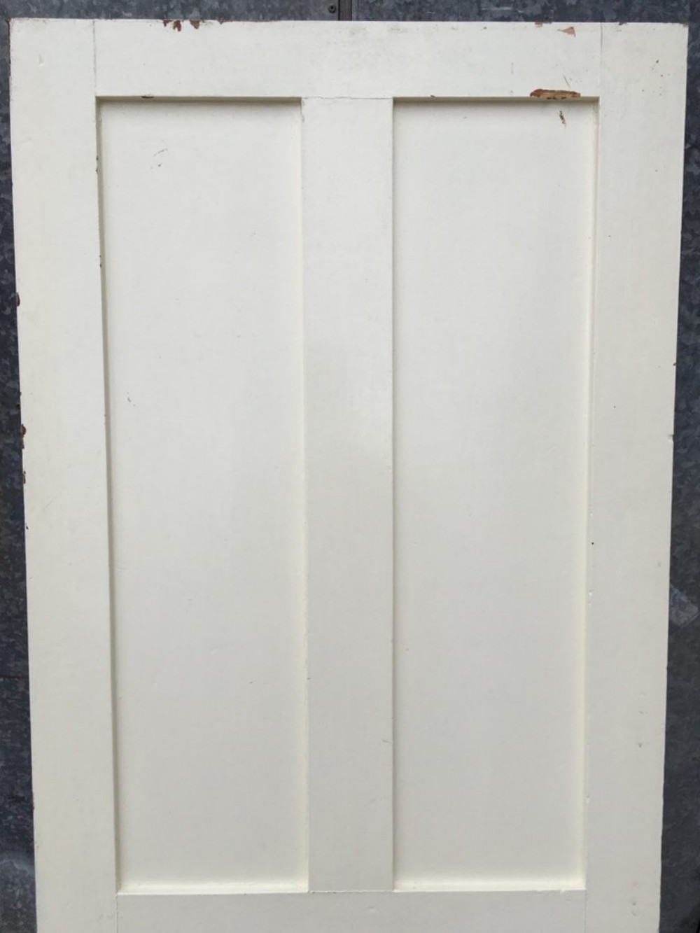 31 1 2 X73 1 2 Short Victorian Painted Pine Four Panel 2