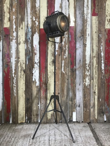 Industrial Style Theatre Stage Light Standard Lounge House Lamp Adjustable Tripod Steel