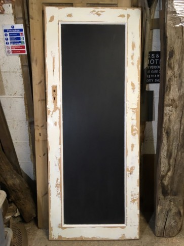 Reclaimed Old Pine Large 6'x2'6 Wall Blackboard Chalk Board