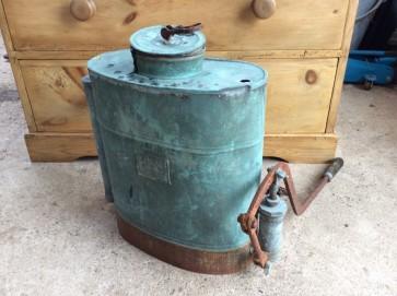Interesting Old Copper Abol Backpack Knapsack Sprayer 1960s 1970s Sold As Seen