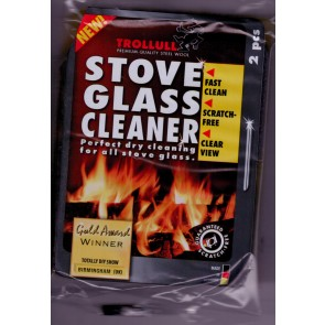 Trollull Stove Glass Cleaner Pads