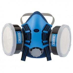 Vapour & Dust Moulded Face Mask Protection Reuseable A1P2