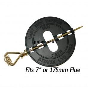 """7"""" 175mm Flue Damper"""