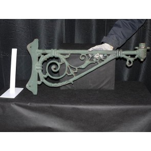 Cast Iron Corner Wall Lamp Bracket Large