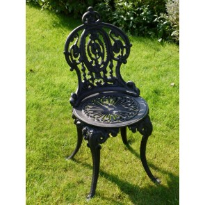 Cast Iron Britannia Garden Single Chair