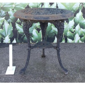 Cast Iron Round Pub Table
