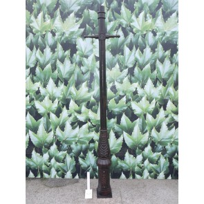 8' Cast Iron Ladder Lamp Post Medium