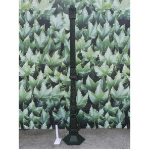 Fluted Lamp Post Cast Iron Large