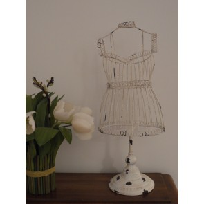 Small Wire Mannequin Shabby Chic 22ins High