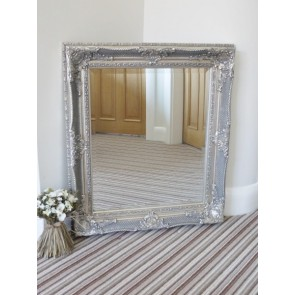 "28""x32"" Antique Speckled Silver Mirror"
