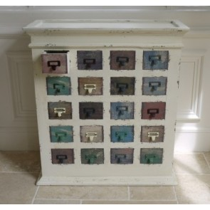 20 Multi Colour Chest of Drawers Cabinet