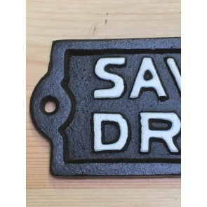 Cast Iron Wall Sign