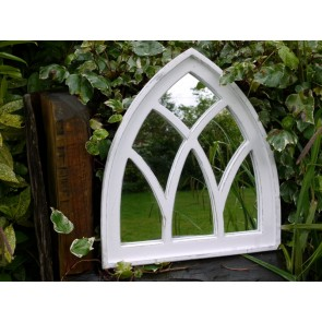 "24"" Gothic Style Arched Wall Mirror"