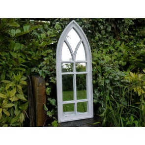 "43""x16"" Gothic Style Wall Mirror"