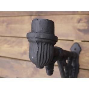 55cm Cast Iron Wall Lamp Bracket 4.5cm Spigot