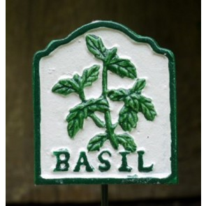 Garden Herb Sign BASIL