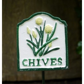 Garden Herb Sign CHIVES