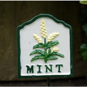 Garden Herb Sign MINT