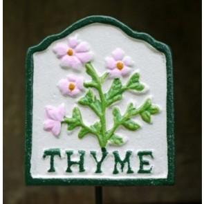 Garden Herb Sign THYME