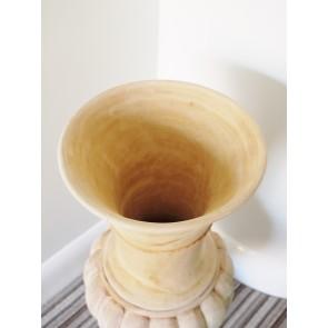"""Mahogany Vase 26"""" High"""