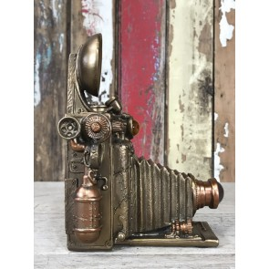 Mad Hatters Steampunk Old Fashion Camera Industrial Home Decoration