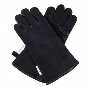 Pair of Stovax Black Fireside Gloves Standard Length