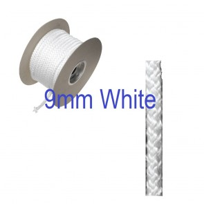 9mm Fire Rope Seal White