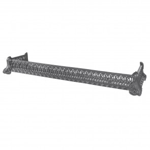 Stovax Black Cast Iron Trellis Fender 46ins