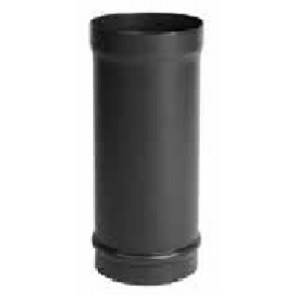 Stovax Enamelled Flue Pipe Matt Black 6in 150mm X 918mm Straight