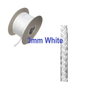 3mm Fire Rope Seal White