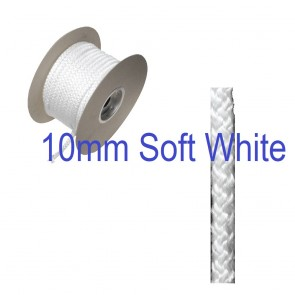 10mm SOFT Fire Rope Seal White
