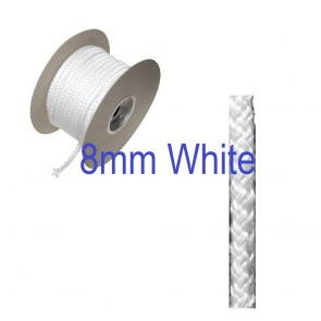 8mm Fire Rope Seal White