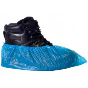 100 Disposable Elastic Chlorinated Polyethlene Overshoe Covers