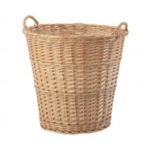 Large Buff Round Basket 50x50