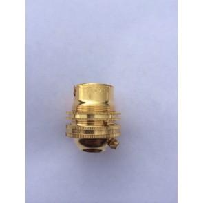 Lamp Holder 1/2inch Brass