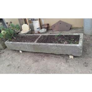 Reclaimed Green Pennant Long Old Stone Feeder Water Trough Garden Planter Tub 6'
