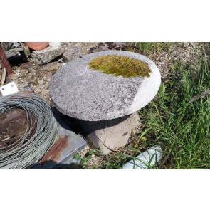 Reclaimed Weathered Reconstituted Stone Staddle Stone Mushroom 21ins