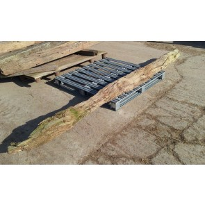 Rustic Reclaimed Very Weathered Oak Beam 10ft 3ins